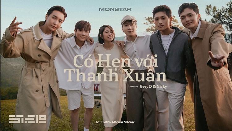 'Có hẹn với thanh xuân' của Monstar debut top 1 BXH iTunes Việt Nam ngay sau khi ra mắt