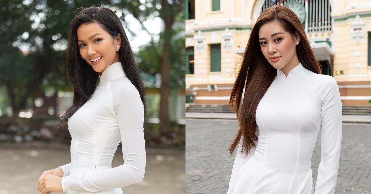 Hoa hậu H'Hen Niê, Hoa hậu Khánh Vân gửi lời chúc may mắn đến các sĩ tử
