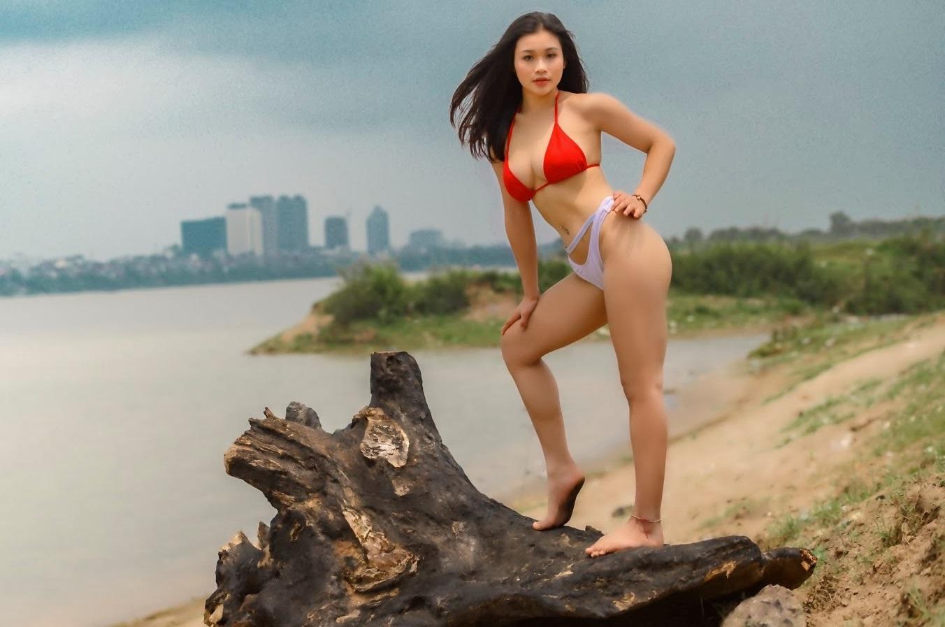 Vẻ đẹp quyến rũ của hotgirl Lê Huỳnh Thanh Diệu