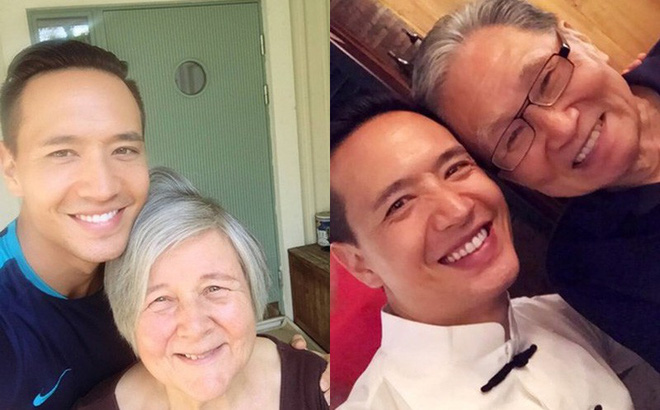 Gia cảnh ngỡ ngàng của bố mẹ Kim Lý tại Thụy Điển