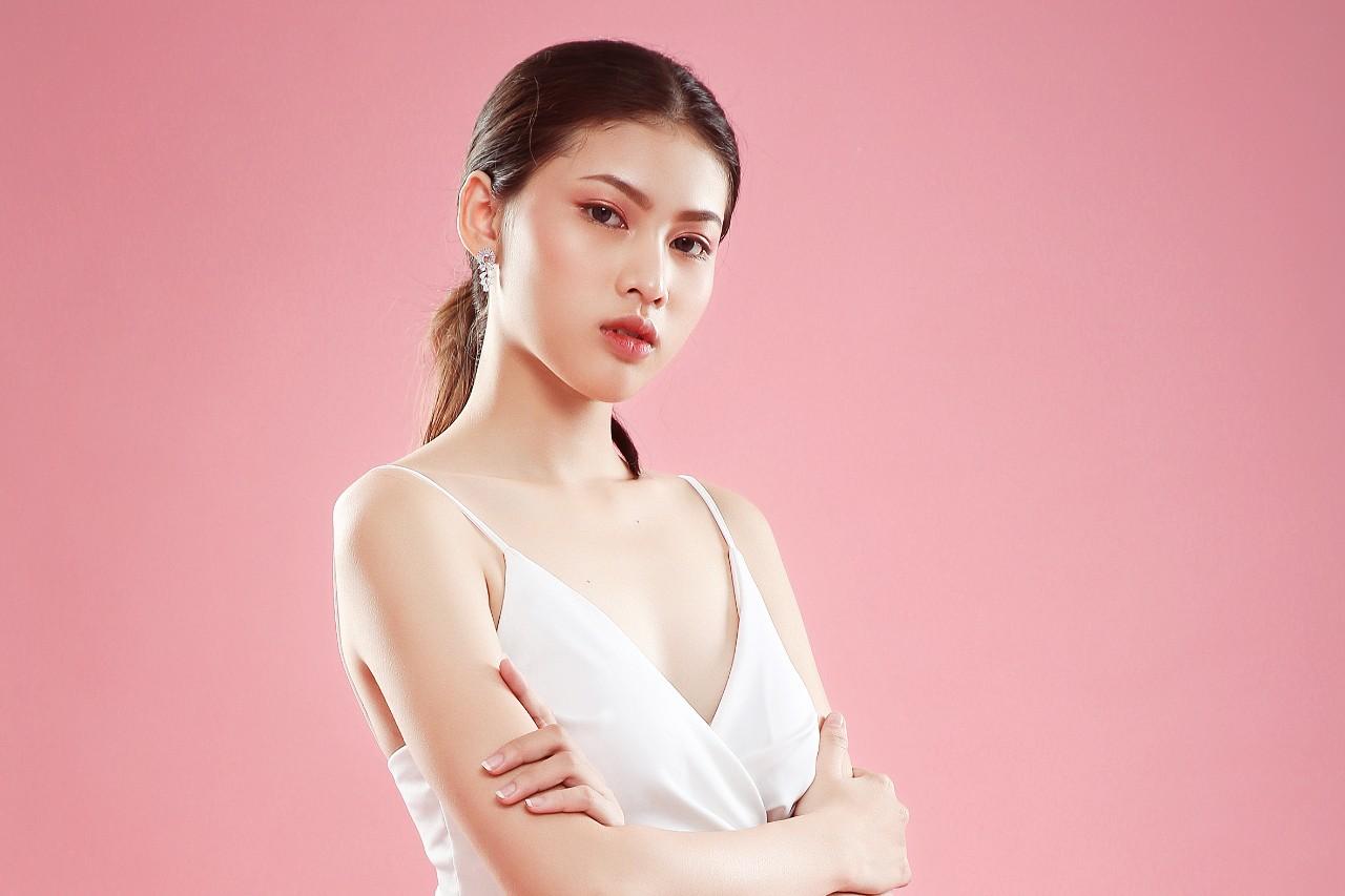 Gương mặt trẻ Nguyễn Lê Ngọc Thảo sở hữu vẻ đẹp chuẩn ''Hoa hậu''
