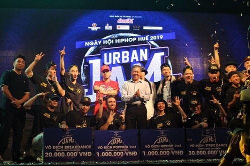 Ngày hội HipHop Urban Jam 2019 tại Huế